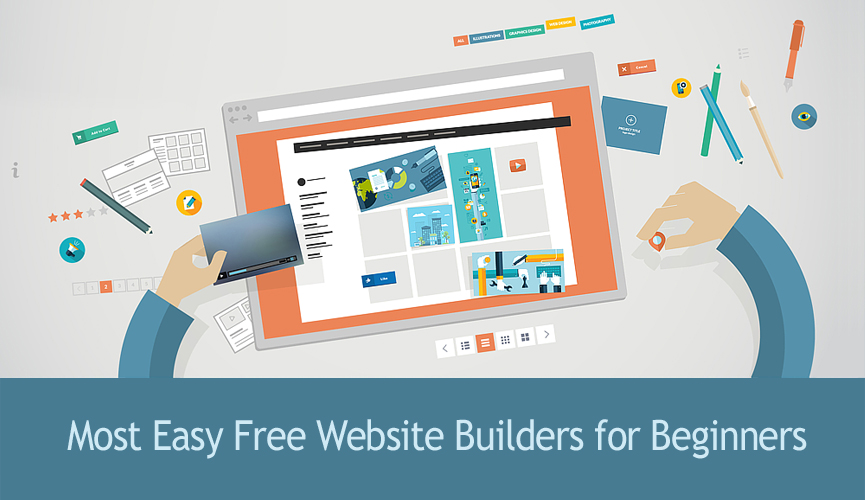 how to build a free website for beginners